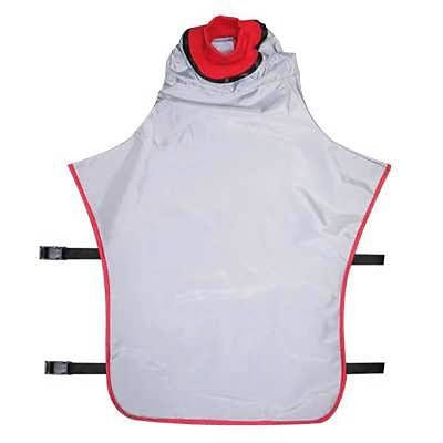 REPLACES CLEMCO APOLLO 600 AIR FED SANDBLASTING HELMET REPLACEMENT CAPE WITH INNER COLLAR