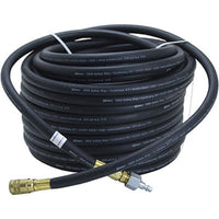 "Bullard V10 3/8"" ID 4696 100-foot Starter hose with 1/4"" Industrial Interchange Q.D. coupler and male nipple for use with breathing air compressors"