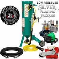 Clemco Style Classic 150 JR  Sandblaster 1 CUFT Sand Pot Blasting System Low Pressure Kit