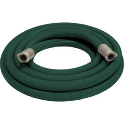 "1 1/2"" X 50' 2 BRAID GREEN EXTENSION SANDBLASTING HOSE WITH ALUMINUM COUPLINGS"
