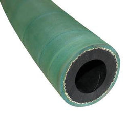 "1 1/4"" X 25' 2 BRAID GREEN EXTENSION SANDBLASTING HOSE WITH ALUMINUM COUPLINGS"