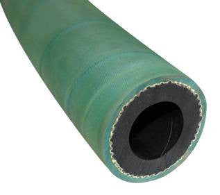 "1 1/4"" X 50' 2 BRAID GREEN EXTENSION SANDBLASTING HOSE WITH ALUMINUM COUPLINGS"