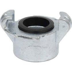 "SB-1 STANDARD THREADED SANDBLAST CAST IRON TANK COUPLING 1 1/4"" NPT CONNECTOR"