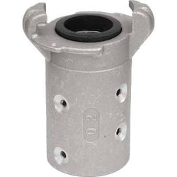 "STANDARD ALUMINUM SANDBLAST MACHINE HOSE QUICK COUPLING FOR 1"" ID HOSE Q-2-AL"