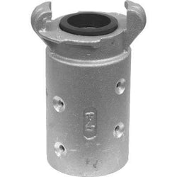 "STANDARD ALUMINUM SANDBLAST MACHINE HOSE QUICK COUPLING FOR 11/4"" ID HOSE Q-3-AL"