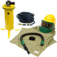 COMPLETE COOL AIR FED SANDBLASTING HOOD SYSTEM KIT FOR SHOTBLASTING BULLARD 88VX3230