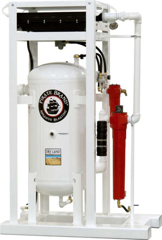2300 CFM DELIQUESCENT SALT TABLET SKID MOUNTED COMPRESSED AIR DRYER SYSTEM