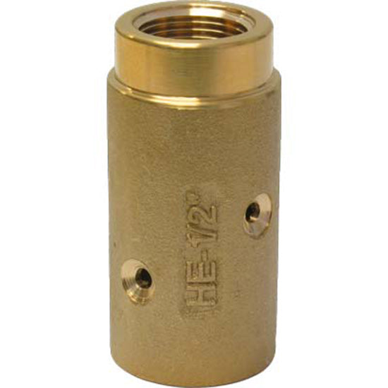 "Standard Brass Sandblast Hose Nozzle Holder Coupling For 1/2"" Id Hose He-05-br"