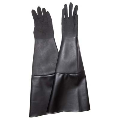 "SAND BLAST CABINET GLOVES REPLACES EMPIRE BLAST CABINET GLOVES 8"" X 28"" PAIR"