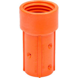 "MHE-1-NY 50 MM NYLON SANDBLAST BLAST HOSE NOZZLE HOLDER FOR 3/4"" ID HOSE"