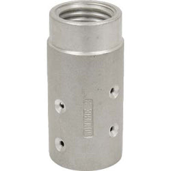 "MHE-3-AL 50 MM ALUMINUM SANDBLAST BLAST HOSE NOZZLE HOLDER FOR 1 1/4 "" ID HOSE"