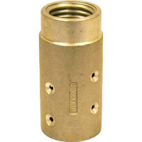 "MHE-3-BR 50 MM Brass Sandblast Blast Hose Nozzle Holder For 1 1/4 "" Id Hose"