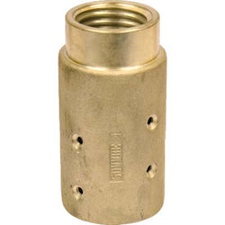 "MHE-4-BR 50 MM BRASS SANDBLAST BLAST HOSE NOZZLE HOLDER FOR 1 1/2 "" ID HOSE"