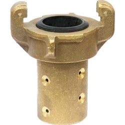 "HEAVY DUTY BRASS FULL PORT SANDBLAST BLAST HOSE QUICK COUPLING FOR 1"" ID HOSE"