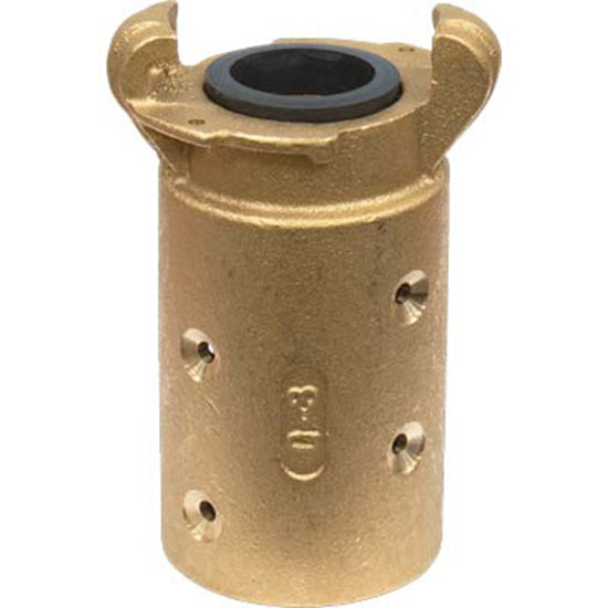 "Standard Brass Sandblast Machine Hose Quick Coupling For 1 1/4"" Id Hose Q-3-br"