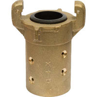 Heavy Duty Brass Full Port Sandblast Blast Hose Quick Coupling For 1 1/2 Id Hose