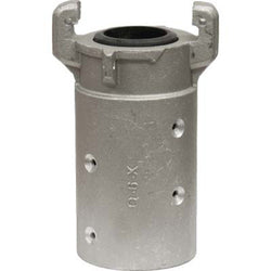 "HEAVY DUTY ALUMINUM FULL PORT SANDBLAST BLAST HOSE QUICK COUPLING FOR 2"" ID HOSE"