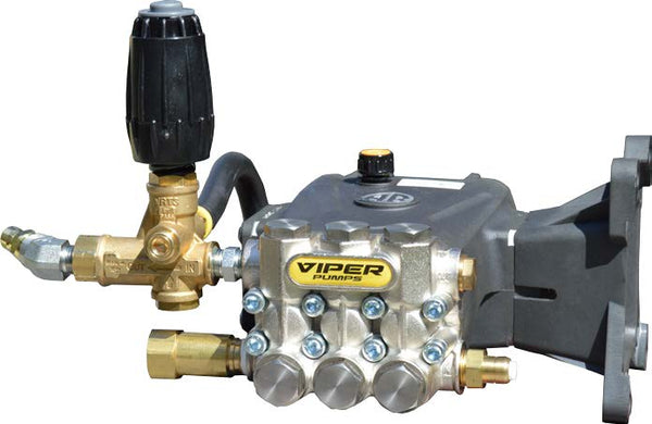 AR Viper VV4G42G Pump Made Ready Fully Plumbed Pump 4 GPM @ 4200 PSI W/Unloader