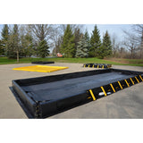 10' x 26' x 1'  Drive Through Snap Up Jobsite Portable Truck / Implement Spill Containment Berm