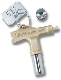 Ultra Fine Finish Airless Spray Gun Switch Tip Works on Graco Rac 5, Titan, SprayTech and many others.
