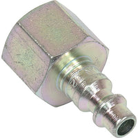 "Bullard V17 1/4"" Industrial Interchange 3/8"" Female NPT Quick-Disconnect Nipple"