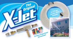 Original Xjet X-jet 9 Pressure Washer Spray Nozzle Deluxe Softwash Kit 3-3.5 Gpm