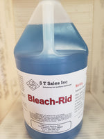Bleach-Rid After Wash Rinse Neutralize Bleach Crystals to Prevent Corrosion and Bleach Streaks on Windows