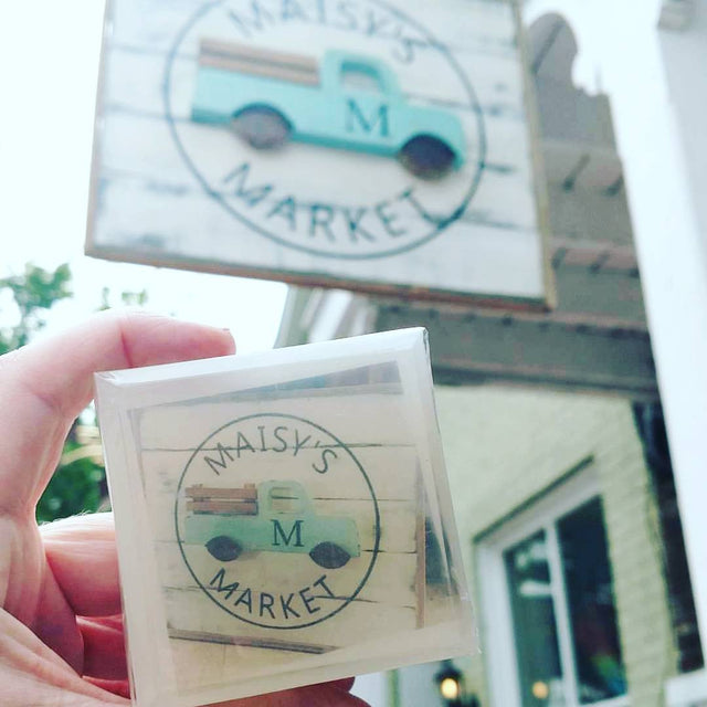 We put your custom logo inside a bar of soap for a unique marketing gift for your special customers
