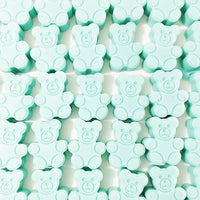 Baby Teddy Bear Baby Shower Soap Favors by sunbasilsoap.com