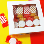 Our Candy Shop Soap Gift Set soaps are scented in candy corn
