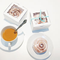 Cinnamon Roll Soaps that look good enough to eat. Handmade by Sunbasilsoap.com