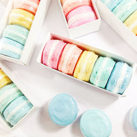 Macaron soaps handmade for gifts by Sunbasilsoap.com