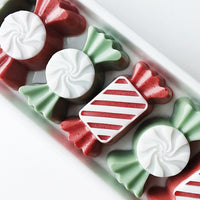 Christmas Candy soaps that look good enough to eat by Sunbasilsoap.com