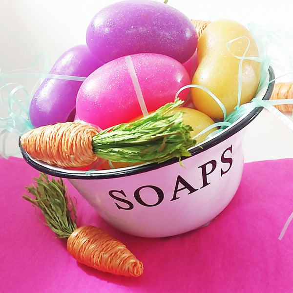 Giant jelly bean soaps perfect for your Easter Basket Fillers by Sunbasilsoap.com