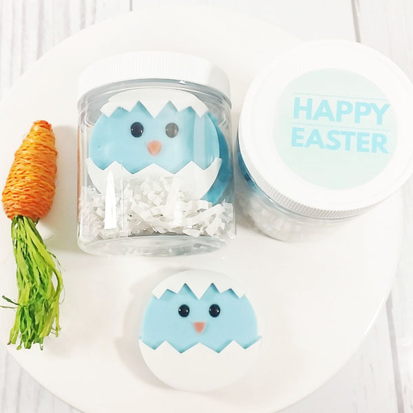Easter handmade bath and body products at sunbasil soap blue easter chick soap gift set negle Image collections