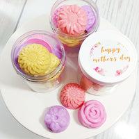 Mother's Day Flower Soaps www.sunbasilsoap.com