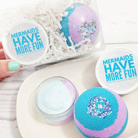 Mermaid Spa Gift Set at Sunbasil Soap