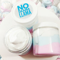 No Drama Lllama Whipped Body Butter available at Sunbasil Soap