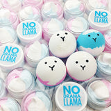 No Drama Llama bath bombs and body butter at Sunbasil Soap