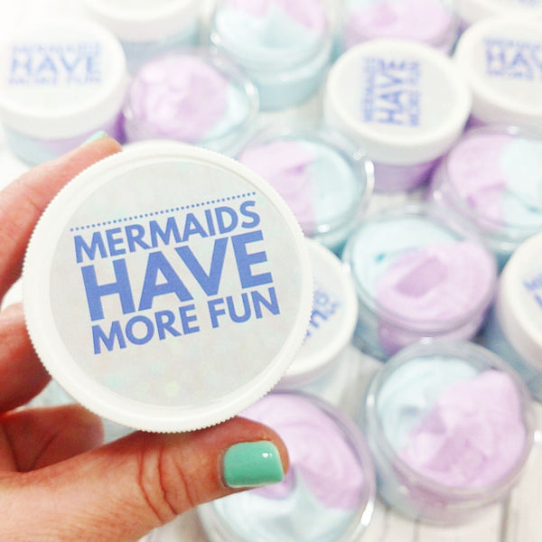Mermaid Whipped Body Butter at Sunbasil Soap