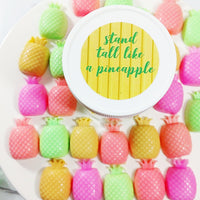 Stand Tall like a pineapple soap gift set handmade by Sunbasil Soap
