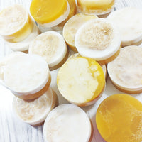 Honey Bunny Loofah soap for natural exfoliation of your skin available at Sunbasil Soap