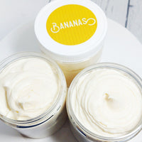 Banana Whipped Body Butter Lotion