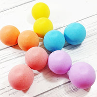 Rainbow Bath Bomb Gift Pack made with shea butter at Sunbasil Soap