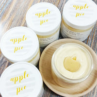 Apple Pie Sugar Scrub www.sunbasilsoap.com
