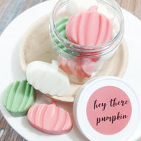 Hey there Pumpkin Soaps for Fall Gift giving handmade at Sunbasil Soap