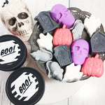 Halloween Boo Soap gift set handmade at Sunbasilsoap.com for your Halloweeners