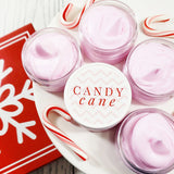 Candy Cane Body Butter Lotion for Christmas handmade at Sunbasil soap