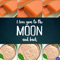 We love pumpkin spice soap to the moon and back - sunbasilgarden.com