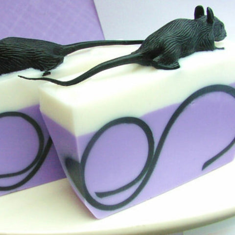 Rat Tail Soap - Halloween - even the rat is made from soap